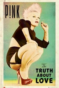 PINK-POSTER-THE-TRUTH-ABOUT-LOVE-24x36-Music-Alecia-Beth-Moore-Lingerie