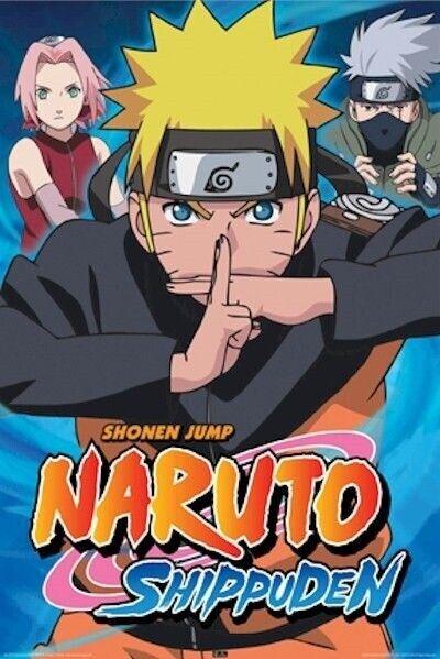 NARUTO ~ SHIPPUDEN TRIANGLE ~ 24x36 ANIME POSTER ~ Manga Shonen Jump Cartoon