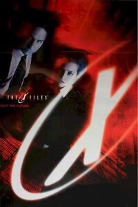 X-FILES FIGHT THE FUTURE MOVIE POSTER ~ STYLE D 23x35 David Duchovny Xfiles