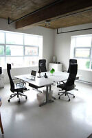 FURNISHED private office, commercial and/or residential LOFT