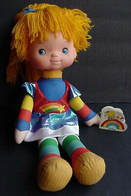 Vintage Original w/ Tag 1983 Emotions Mattel RAINBOW BRITE Doll Vinyl Face Plush
