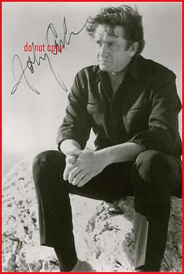 Johnny Cash Repro-Autogramm signed Preprint