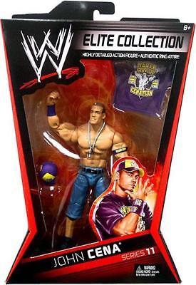 Wwe John Cena Costruzione Elite Serie 11 Cappello Mattel Wrestling Action Figure