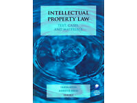 Intellectual Property Law; Text, cases and materials - GREAT CONDITION