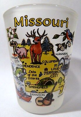 Missouri Map Shot Glass Shotglass
