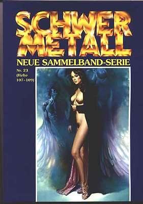 6 Schwermetall Sammelbände 23-28 (direkt vom Verlag)