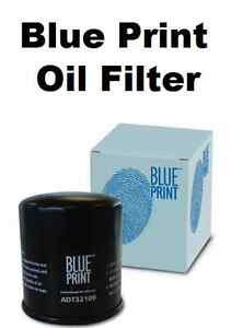 Blue Print Blueprint Oil Filter- Fiat Punto Evo 1.4 8v 10  ADL142102