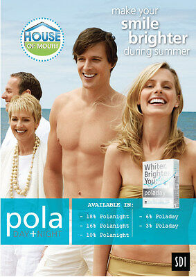 Poladay and Polanight - Professional Whitening Solutions offered by 'The House of Mouth'