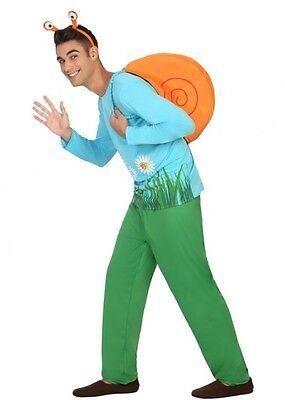 Costume Man Snail XL Adult Animal Drawing cartoon funny NEW Cheap