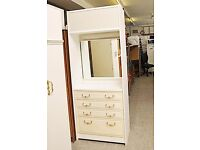 XMAS SALE NOW ON!! Vanity Unit With Drawers & Top Cupboard - Can Deliver For £19