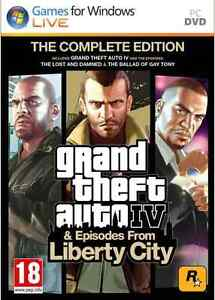 GRAND THEFT AUTO IV: COMPLETE EDITION PC *New & Sealed*