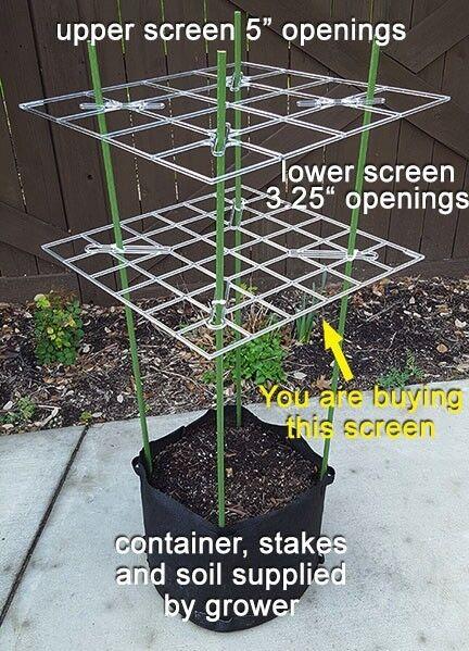"""ScrOG Screen - P SCROG Screen (3.25"""" openings) low cost"""
