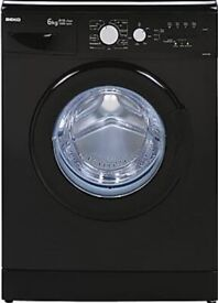 Fully Refurbished Black Washing Machine+ 1Year Warranty+ Free Delivery