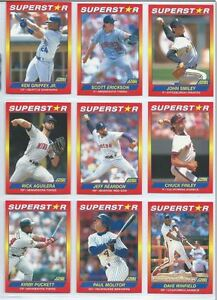 1990 Score Superstars 100 card set RYAN THOMAS CLEMENS RIPKEN Oakville / Halton Region Toronto (GTA) image 1