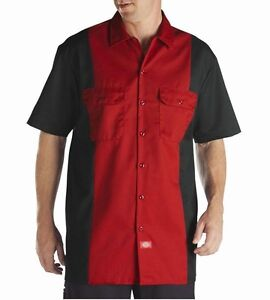 Dickies-WS513-Two-Tone-Mens-Work-Shirt