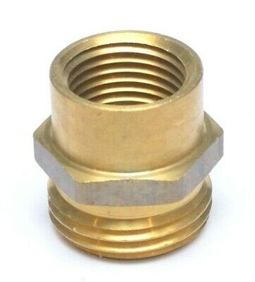 12 Female Npt To 34 Male Ght Garden Hose Thread To Female Pipe Adapter Brass