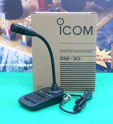 SM-30 ICOM Desktop Microphone IC-7200 IC-9100 IC-7000 IC-911 IC-7300 Ham Radio, used for sale  Shipping to Canada