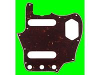 Fender Jaguar Pickguard Pure Vintage 65 Tortoiseshell Tortoise. Jazzmaster. Scratchplate Brown 1965