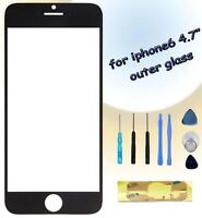 Front Outer Screen Glass Lens Cover Replacement For Apple iPhone