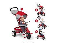 As good as new Radio Flyer Deluxe All Terrain Trike and tricycle.