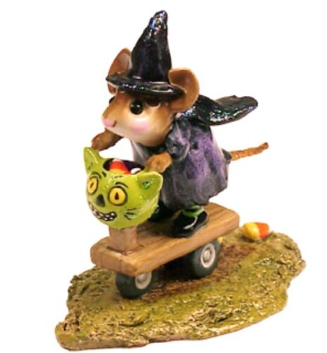 Wee Forest Folk Limited Edition Purple Scootin with the Loot