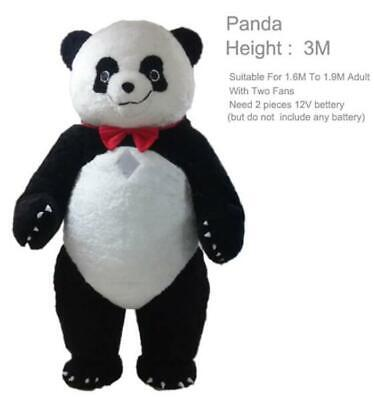 2019 3m Inflatable Panda Bear Mascot Costume Suit Advertising Adult Dress - Adult Panda Suit