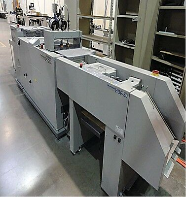 Horizon Hof 30 Digital Sheet Feeder W Spf 20 A Auto Set Bookletmaker Duplo
