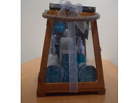Winter In Venice Toiletries Gift Set 'Monsoon Mist' - 9 items in Glass Lantern. New and unopened