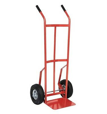 SEALEY CST987 Sack Truck With Pneumatic Tyres (200kg Capacity)