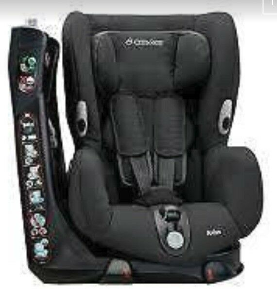 Maxi Cosi Axiss Black Reflection Car Seat Swivel Baby Child 9 Months