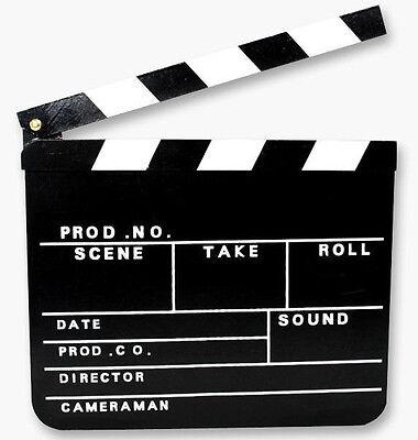 1 Regieklappe Filmklappe Klappe 30 x 26,5 Clapperboard