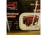 Petrol 240volt generator