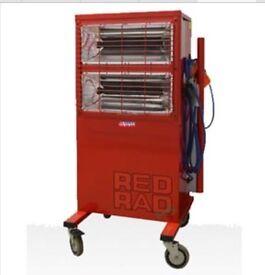 Red Rad Halogen Heaters