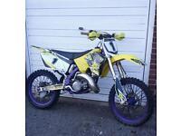 suzuki rm 125 2005 motorcross bike crosser 85 250 ktm yz cr kx moped quad pit bike