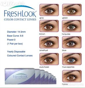 Freshlook colored contacts