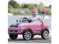 Mini Cooper ride along