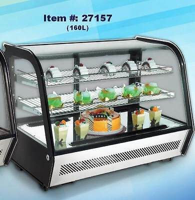 Omcan Rs-cn-0160 5.65cf Countertop Refrigerated Display Case New 1 Seller