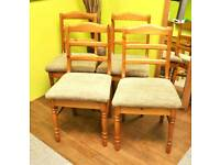 Set Of 4 Dining Chairs- Can Deliver For £19