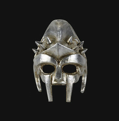 Mask from Venice Silver Authentic Gladiator of Rome Carnival Venetian 478