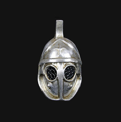 Mask from Venice Silver Authentic Gladiator of Rome Carnival Venetian 477