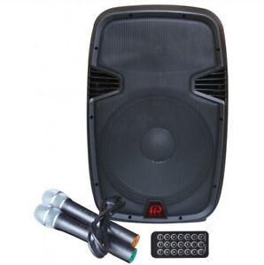 POWERED SPEAKER WITH BUILT IN BATTERY & BLUETOOTH - BRAND NEW