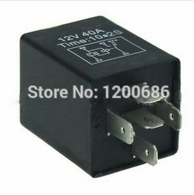 Time Delay Relay 30a Automotive 12v 5 Pins 310 Seconds On Delay Relays Spdt New
