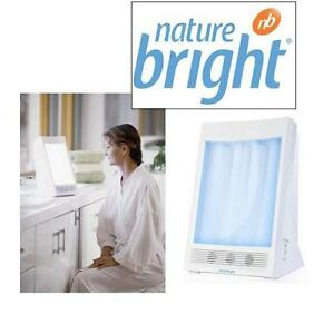 NEW NATUREBRIGHT THERAPY LAMP SUNTOUCH PLUS LIGHT AND ION THERAPY 109425079