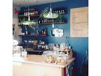 Licensed corner cafe on Roman Road, E1 - lease for sale (A1 premises) premium reduced