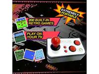 BRAND NEW,GBOX Retro 200 Video Games Console