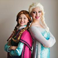 Invite Elsa and Anna to your child's birthday party!