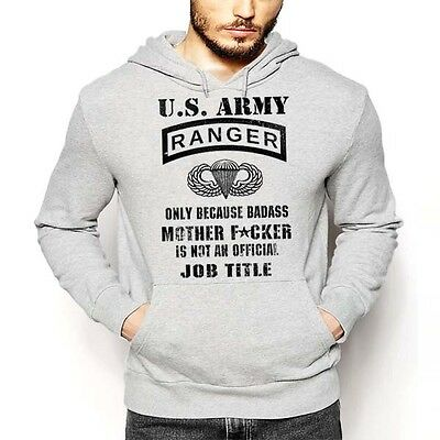 US Army Ranger Hoodie Sua Sponte Lead The Way Special Operation Combat Military