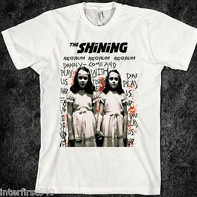 The Shining T-shirt, movie, the Grady Twins, Horror, Halloween, vintage, S-2XL - Grady Twins Halloween