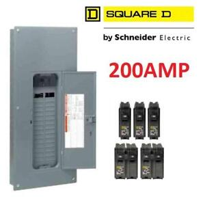 NEW MAIN BREAKER LOAD CENTER HOM3060M200PCVP 188762926 SQUARE D SCHNEIDER ELECTRIC 200AMP 30SPACE 60CIRCUIT