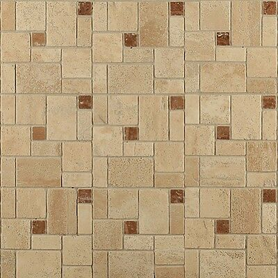 Self Adhesive Wall Tiles Peel And Stick Backsplash Kitchen Bathroom Stone Beige